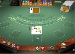 Picture of a Blackjack game