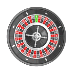 Picture of roulette table
