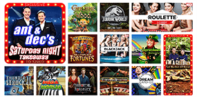 Some games that are available at the 32red Casino
