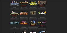 A selection of some games that are available at Bet365