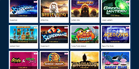 Some of the available Europa Casino games