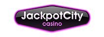 The big Jackpot City logo is visualized here