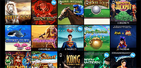 An image that shows some of the games at Ladbrokes casino