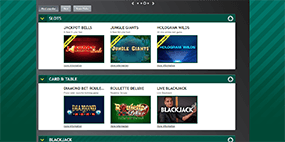 This screenshot shows slot games available at Paddy Power Casino