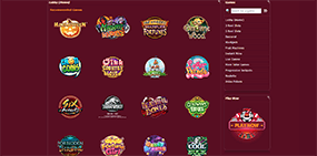 Just a few Ruby Fortune games