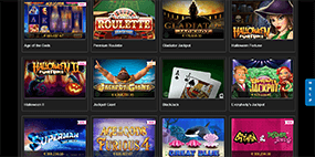 12 popular Titanbet games are displayed here